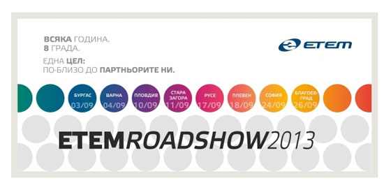Etem Roadshow 2013