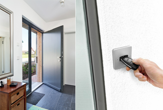 ECturn Inside swing door drive